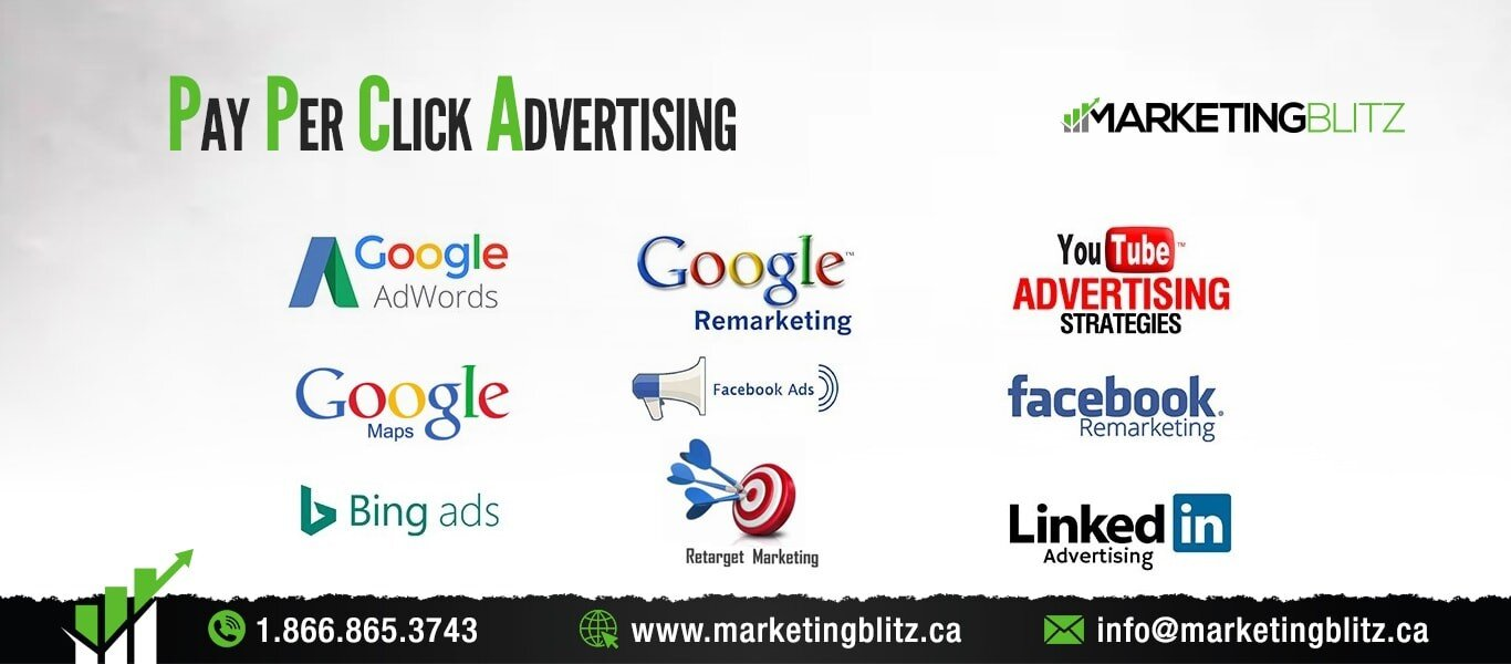 Google Ads PPC Paid per click advertising marketing blitz inc
