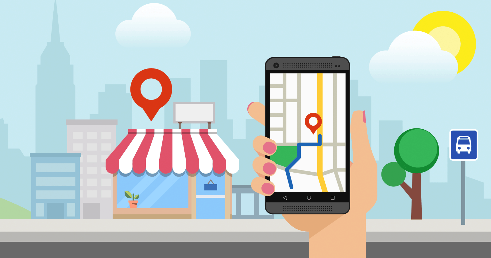 local business using Local SEO services ...