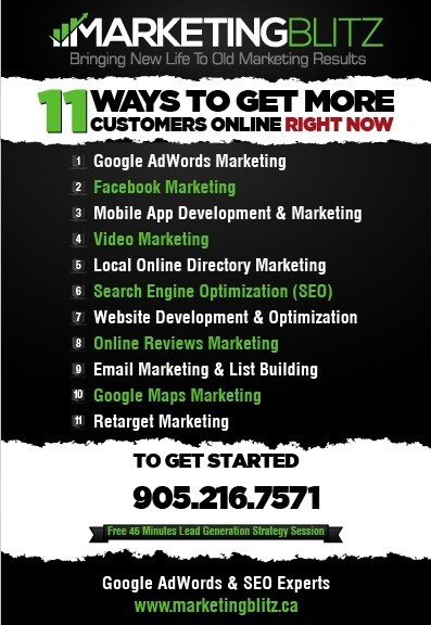 Marketing Blitz Inc. Digital Marketing 2