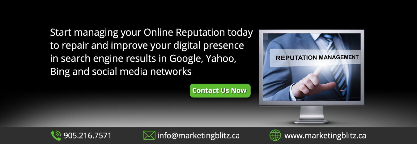 marketing blitz online reputation management