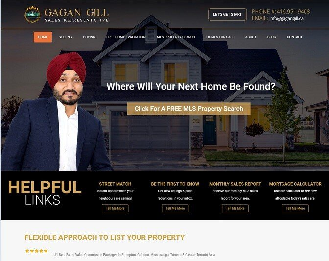 gagan gill real estate agent